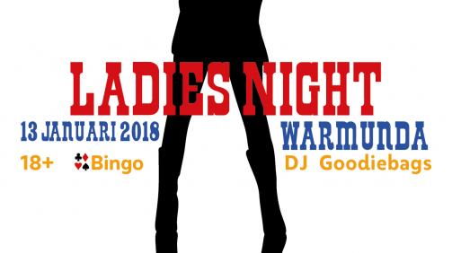 Poster design Ladies Night Cow girls