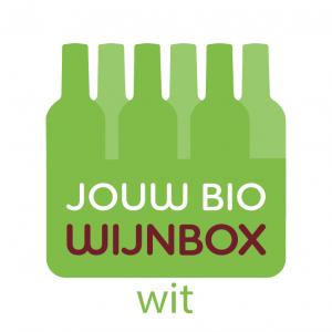 Logo design biological wine box white wine