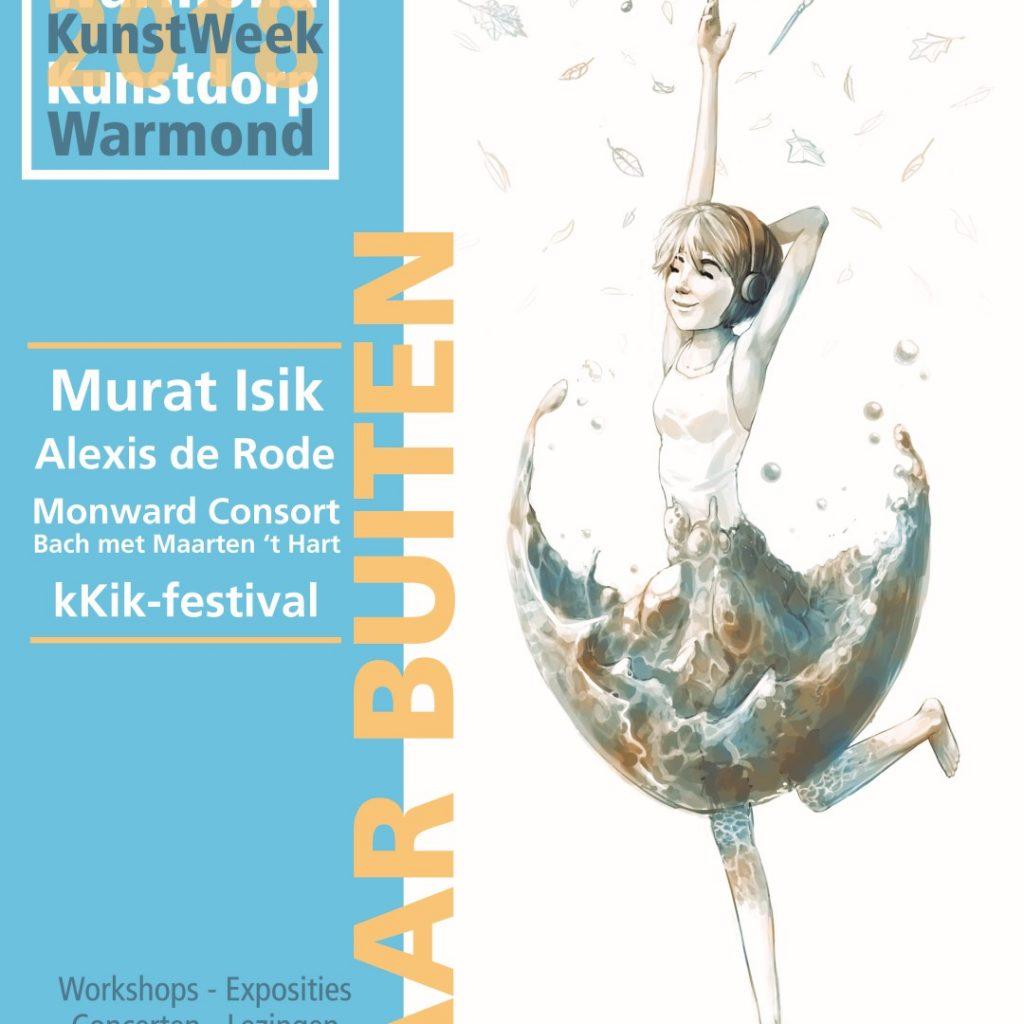 Poster design Kunstweek Warmond